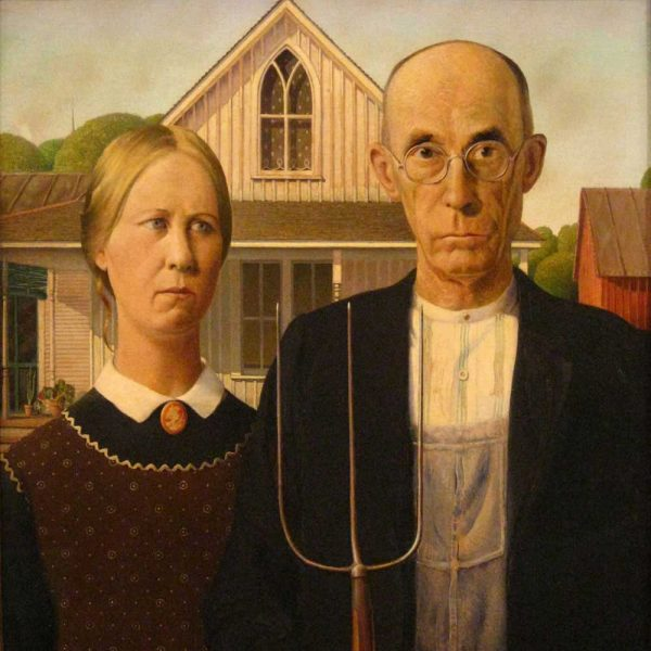 Grant Wood at Art Institute of Chicago