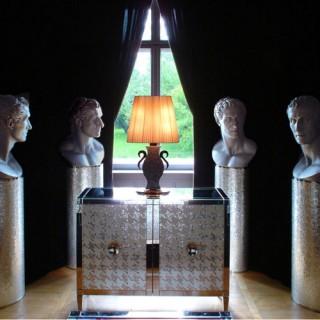 Haus Am Waldsee museum lounge