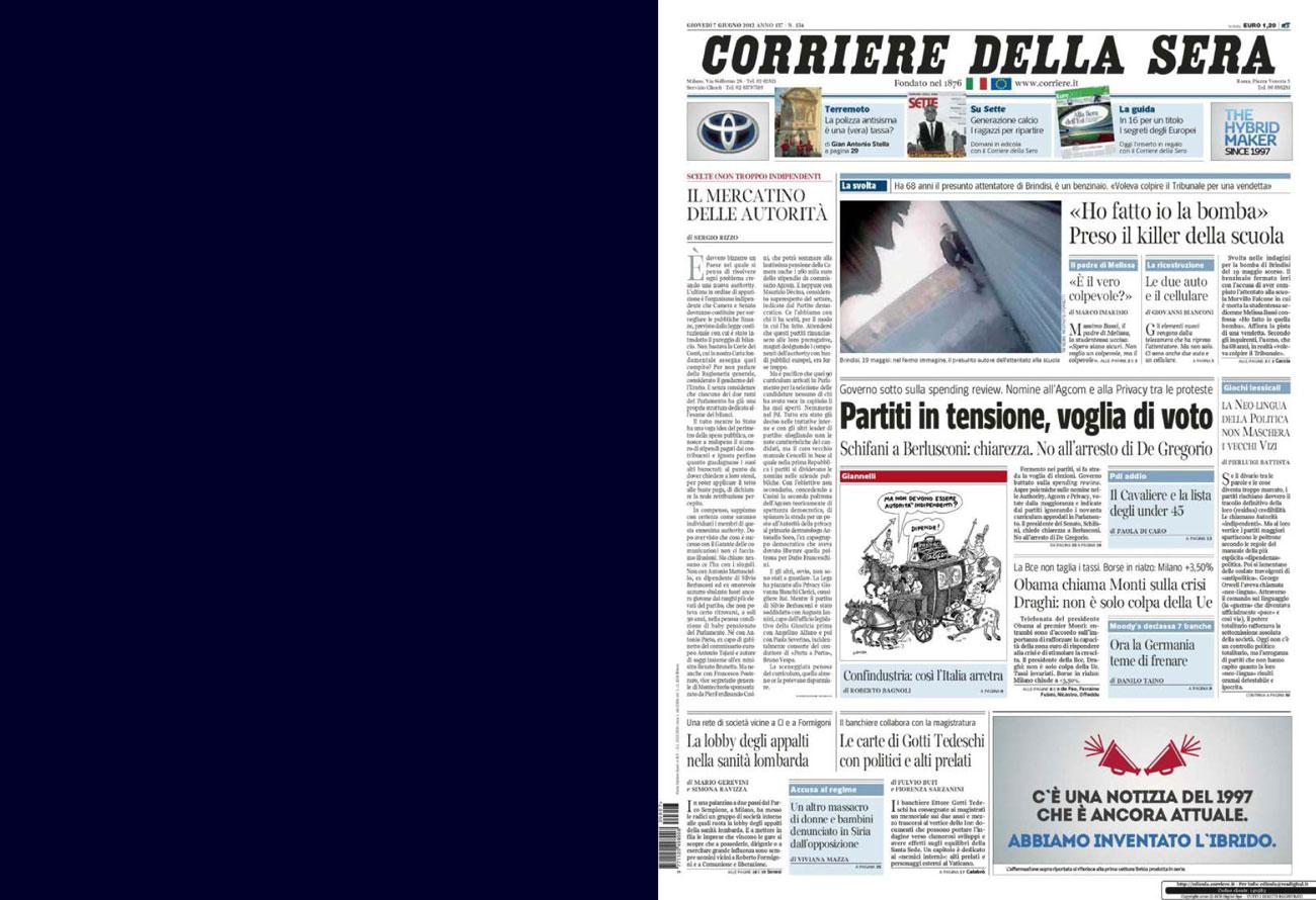 CorriereDellaSera-07Giu12-cover