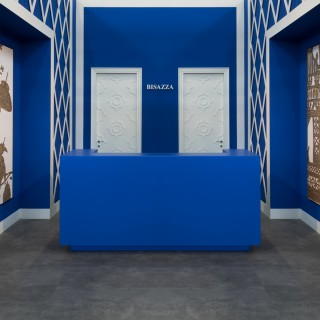 Bisazza booth at Cersaie