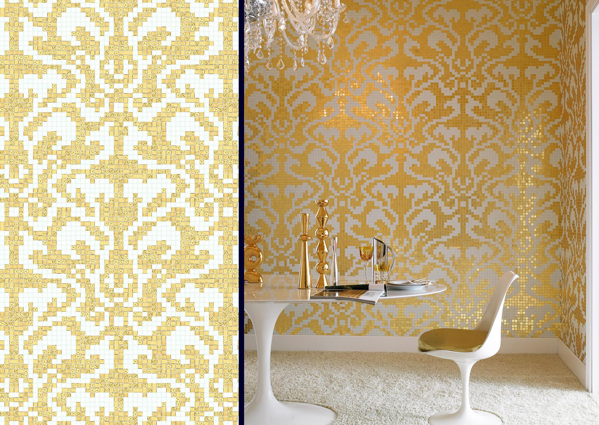 012 damasco oro giallo